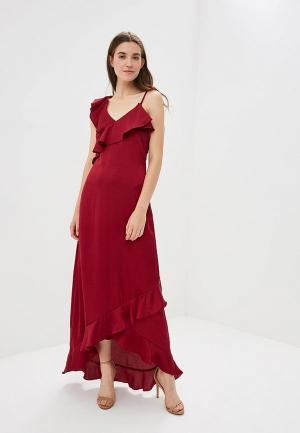 Платье Y.A.S. Цвет: бордовый