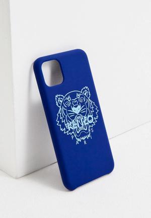 Чехол для iPhone Kenzo. Цвет: синий