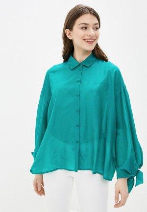Блуза Guess Jeans. Цвет: зеленый