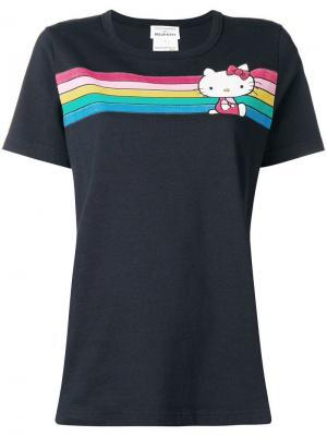 Hello Kitty striped T-shirt Chinti & Parker. Цвет: синий
