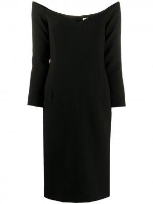 LAutre Chose трикотажное платье миди с длинными рукавами L'Autre. Цвет: черный