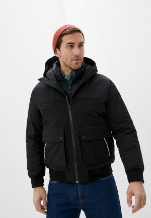 Куртка утепленная The Kooples Sport. Цвет: черный