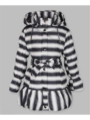 Пальто Arista. Цвет: темно-серый, белый