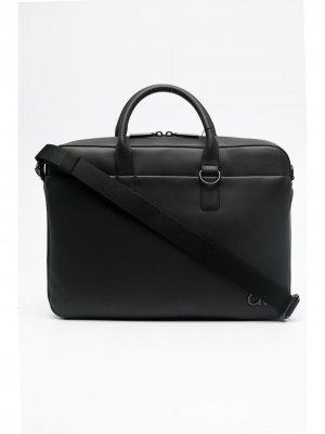 Сумка для ноутбука Clean 13 Calvin Klein. Цвет: черный