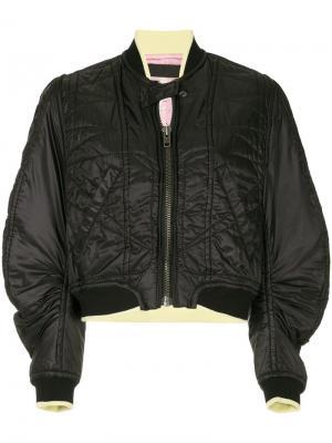 Куртка-бомбер Zoisite Haider Ackermann. Цвет: черный