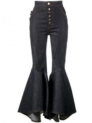 Расклешенные джинсы Ellery. Цвет: синий