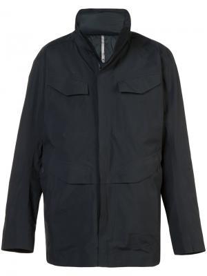Куртка в стиле милитари Arcteryx Veilance Arc'teryx. Цвет: чёрный