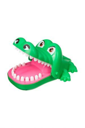 Зубастый крокодил BONDIBON. Цвет: зеленый