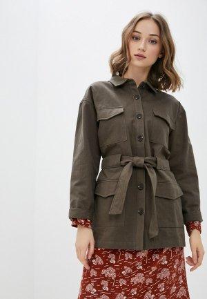 Куртка BlendShe. Цвет: хаки