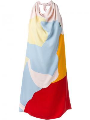 Платье с принтом Nina Ricci. Цвет: разноцветный
