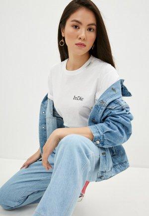 Комбинезон джинсовый Forte Dei Marmi Couture. Цвет: синий