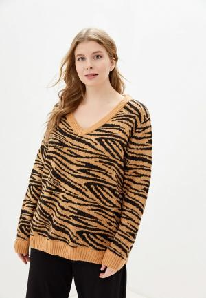 Пуловер Brave Soul. Цвет: бежевый