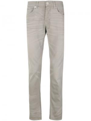 Зауженные джинсы George Dondup. Цвет: серый