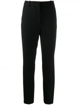 Классические брюки кроя слим Emilio Pucci. Цвет: черный
