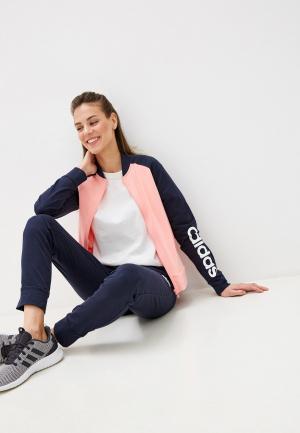 Костюм спортивный adidas. Цвет: разноцветный