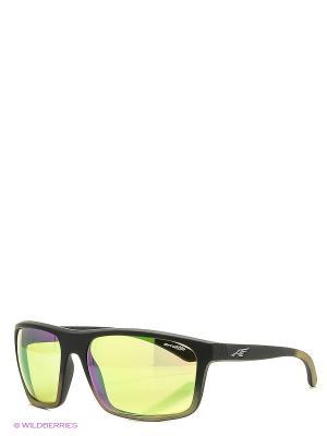 Очки солнцезащитные SANDBANK ARNETTE. Цвет: зеленый