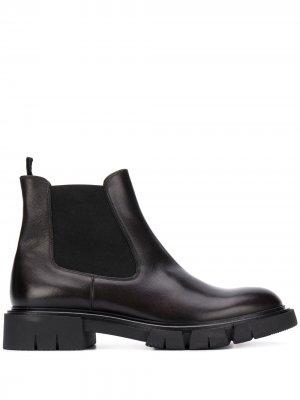 Ботинки на массивной подошве Fratelli Rossetti. Цвет: черный