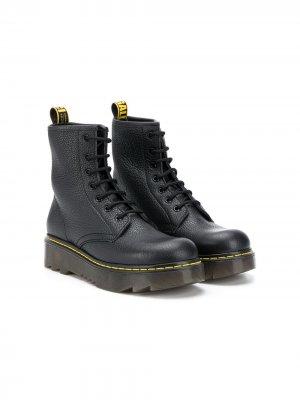 Ботинки на шнуровке Gallucci Kids. Цвет: черный