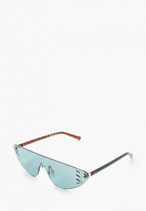 Очки солнцезащитные M Missoni. Цвет: бирюзовый