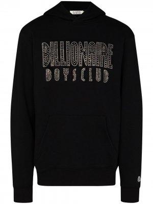 Худи с логотипом Billionaire Boys Club. Цвет: черный