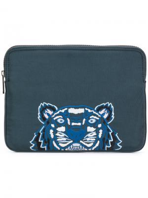 Сумка для планшета Tiger Kenzo. Цвет: зеленый