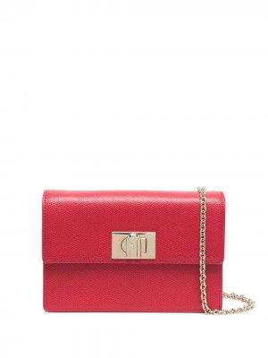 Поясная сумка 1927 Furla. Цвет: красный