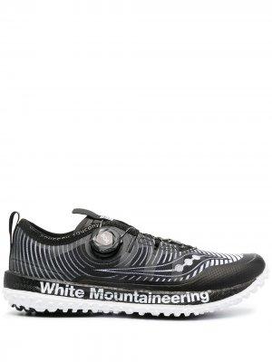 Кроссовки  Switchback x White Mountaineering Saucony. Цвет: черный