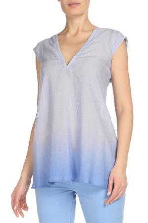 Блуза CNC Costume National C'N'C. Цвет: голубой