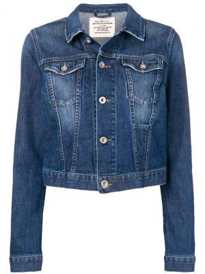 Джинсовая куртка Diesel. Цвет: синий