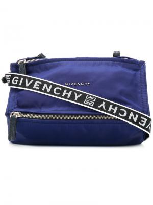 Mini Pandora bag Givenchy. Цвет: синий