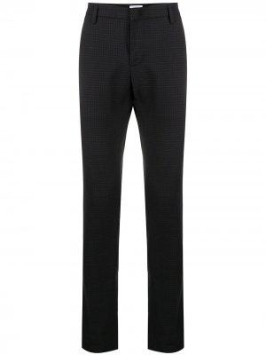 Узкие брюки строгого кроя Dondup. Цвет: синий