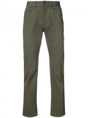 Классические брюки чинос 321. Цвет: зеленый