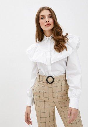 Блуза Manila Grace. Цвет: белый