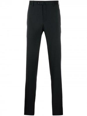 Строгие брюки кроя слим Pt01. Цвет: синий