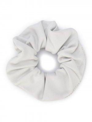 Резинка для волос Manokhi. Цвет: белый