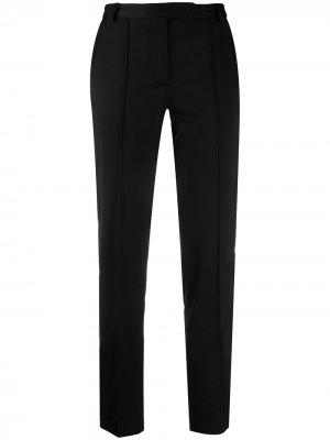Прямые брюки строгого кроя Styland. Цвет: черный