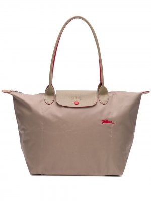 Сумка-тоут Le Pliage L Longchamp. Цвет: нейтральные цвета