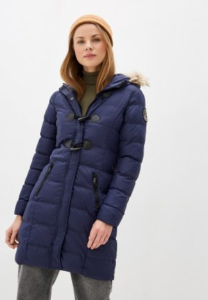 Куртка утепленная Brave Soul. Цвет: синий