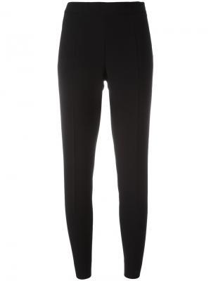 Укороченные брюки Moschino. Цвет: черный