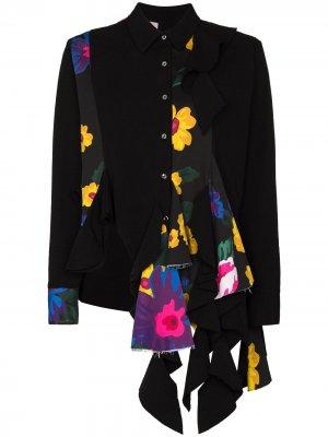 MarquesAlmeida рубашка reM'Ade с принтом Marques'Almeida. Цвет: черный