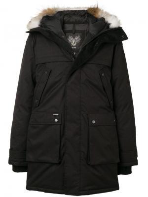 Yatesy parka coat Nobis. Цвет: черный