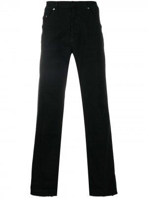 Укороченные джинсы прямого кроя Neil Barrett. Цвет: черный