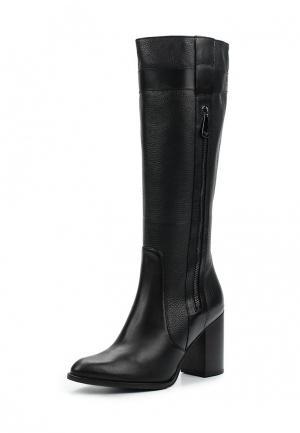 Сапоги Armani Jeans. Цвет: черный