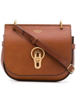 Amberley satchel small Mulberry. Цвет: коричневый
