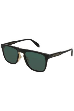 Солнцезащитные очки McQ Alexander McQueen. Цвет: черный