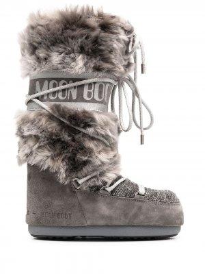 Сапоги луноходы Eskimo 18 Moon Boot. Цвет: серый