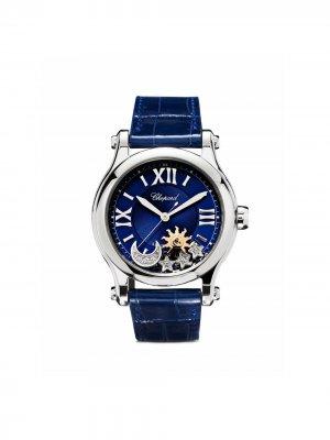 Наручные часы Happy Sport 36 мм Chopard. Цвет: синий