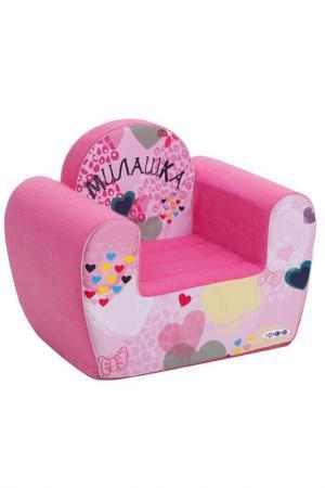 Игровое кресло PAREMO. Цвет: бордовый