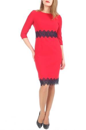 Платье Lamiavita. Цвет: красный