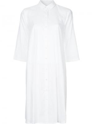 Платье Delmissa Mads Nørgaard. Цвет: белый